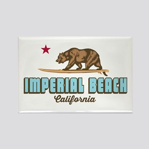 Imperial Beach - California. Rectangle Magnets